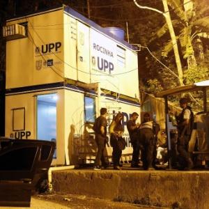 Contêiner onde oito policiais aguardaram enquanto Amarildo era torturado, segundo denúncia do MP