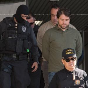 Ex-deputado Luiz Argôlo (ao centro) (SD-BA)