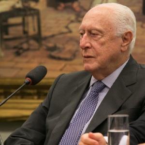 Salim Taufic Schahin, do Grupo Schahin, durante depoimento a CPI da Petrobras