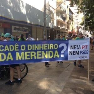 Ribeirão Preto protesta também contra suposto desvio na merenda em SP - Gustavo Porto/Estadão Conteúdo