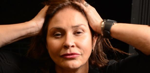 A cantora Fafá de Belém, que completa 40 anos de carreira