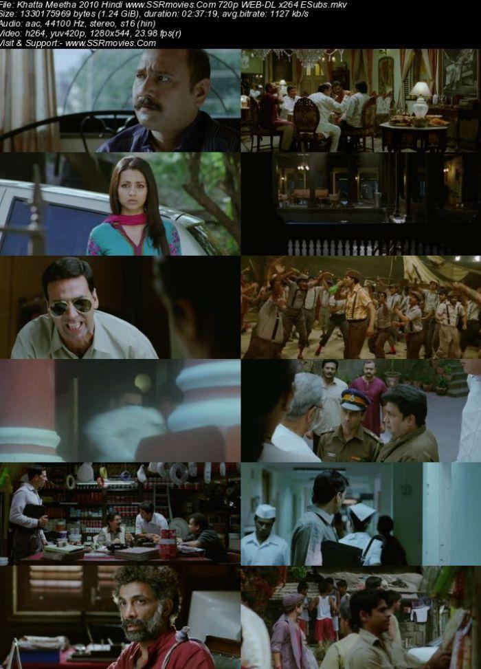 Khatta Meetha (2010) Hindi 720p WEB-DL x264 1.2GB Full Movie Download