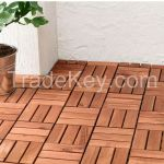 Deck Tiles Garden Solid Teak Wood Flooring With Plastic Base Wood Floring By Home24h Co Ltd Vietnam