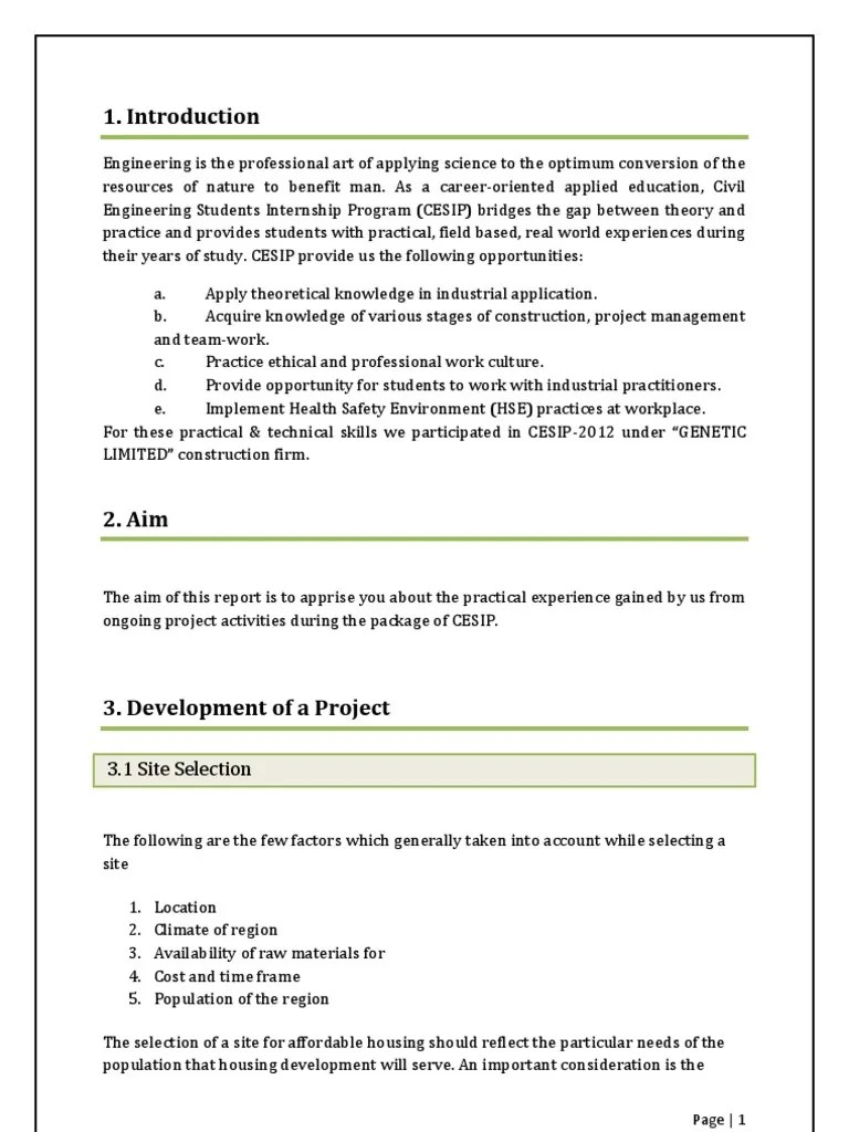 Enter the project's phase and other observations. Final Year Project Report Sample For Civil Engineering