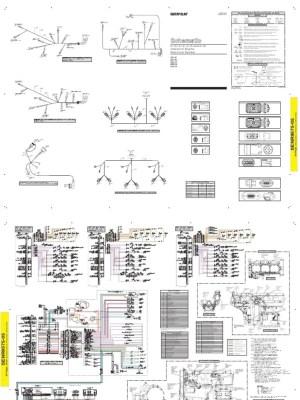 CAT  C12, C13, C15  Electric Schematic