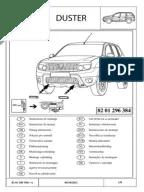 Dacia Duster Electrical Wiring Diagrams (German)