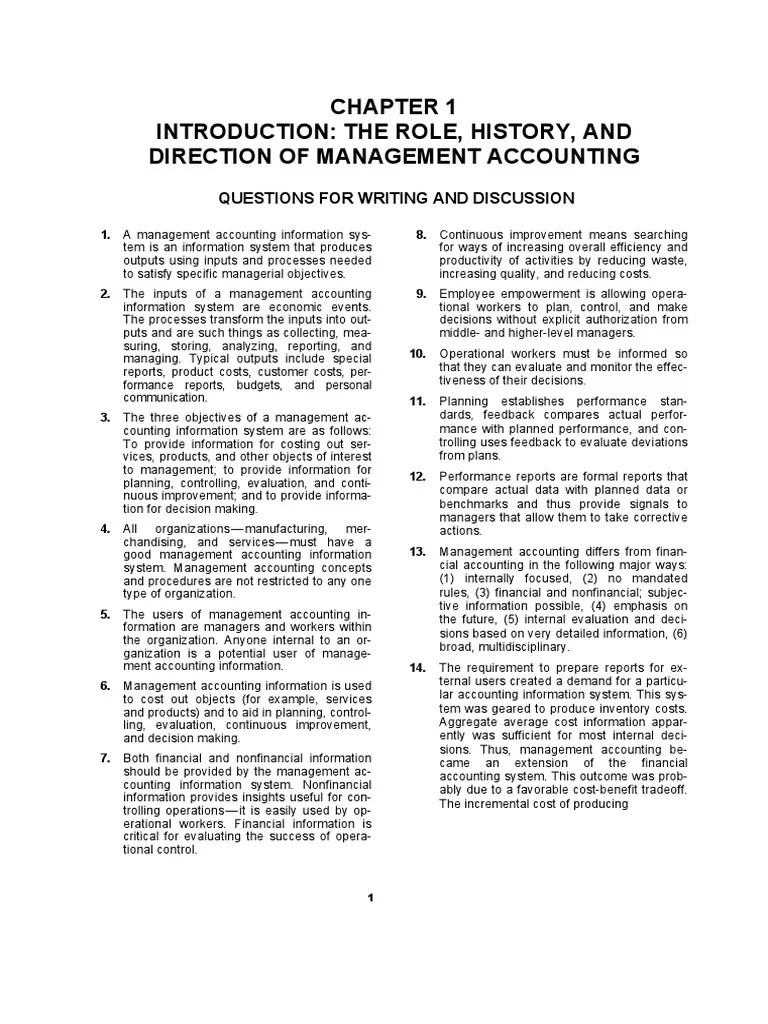 22/04/2014· download to read offline. Hansen Mowen Solution Manual Chapter 1 8th Edition