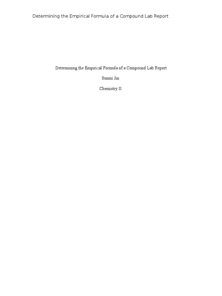 Empirical Formula Worksheets Free Worksheets Library Download And