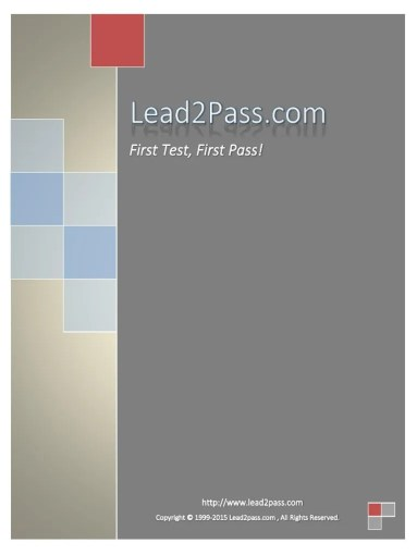 Lead2Pass 400 101 827 Questions   Multiprotocol Label Switching     Lead2Pass 400 101 827 Questions   Multiprotocol Label Switching   Virtual  Private Network