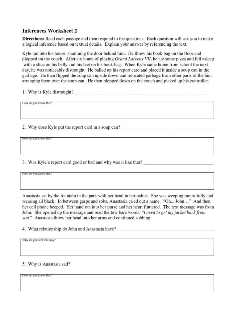 Worksheets Inferences Worksheet 2 inferences worksheet 2 free worksheets library download and print w ksheet ferences mytourvn study site