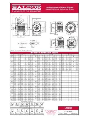 Baldor Motor Frame Chart  impremedia