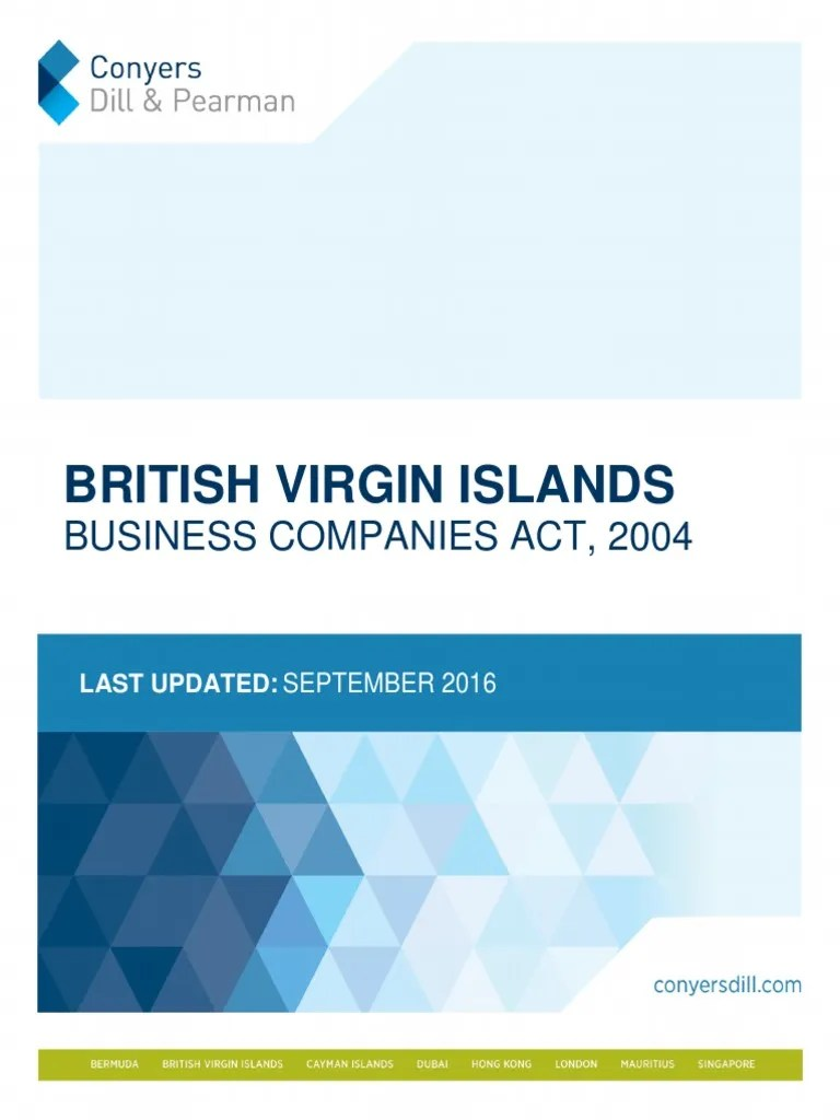 BVI_Business_Companies_Act_2004_Conyers.pdf | Bearer Instrument | British Virgin Islands