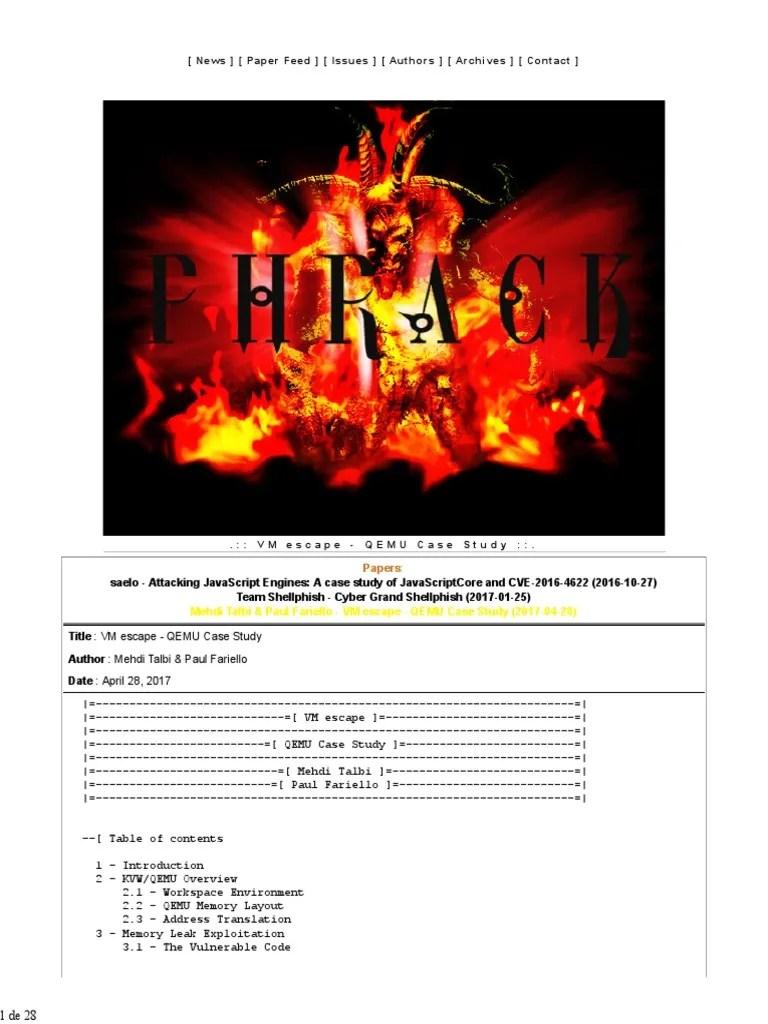 Qemu Caso de Estudio   Computer Hardware   Computer Data