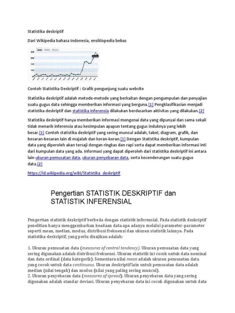 Kumpulan gambar tentang contoh statistika inferensial, klik untuk melihat koleksi gambar lain di kibrispdr.org website download gambar berkualitas tinggi upload gambar Metlit 1 Pdf