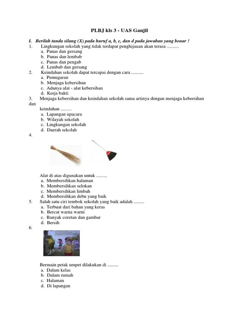 Pendidikan jasmani, olahraga, dan kesehatan (pjok) untuk kelas. Buku Plbj Kelas 3 Sd Pdf - Guru Galeri