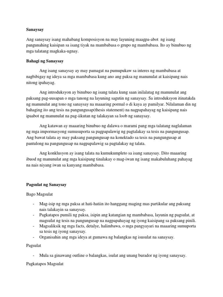 Konklusyon Halimbawa Sa Essay - Konklusyon Halimbawa Thesis Thesis Title  Ideas For College - Mahalaga Ang Konklusyon Dahil Dito Mo Maipapakita Sa  Mga Mambabasa Kung Bakit Mahalaga Ang Iyong Sinulat. - Mapquest Driving  Directions