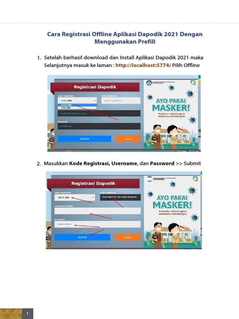 Cara Download Prefill dan Aplikasi Dapodik Versi Terbaru 2021