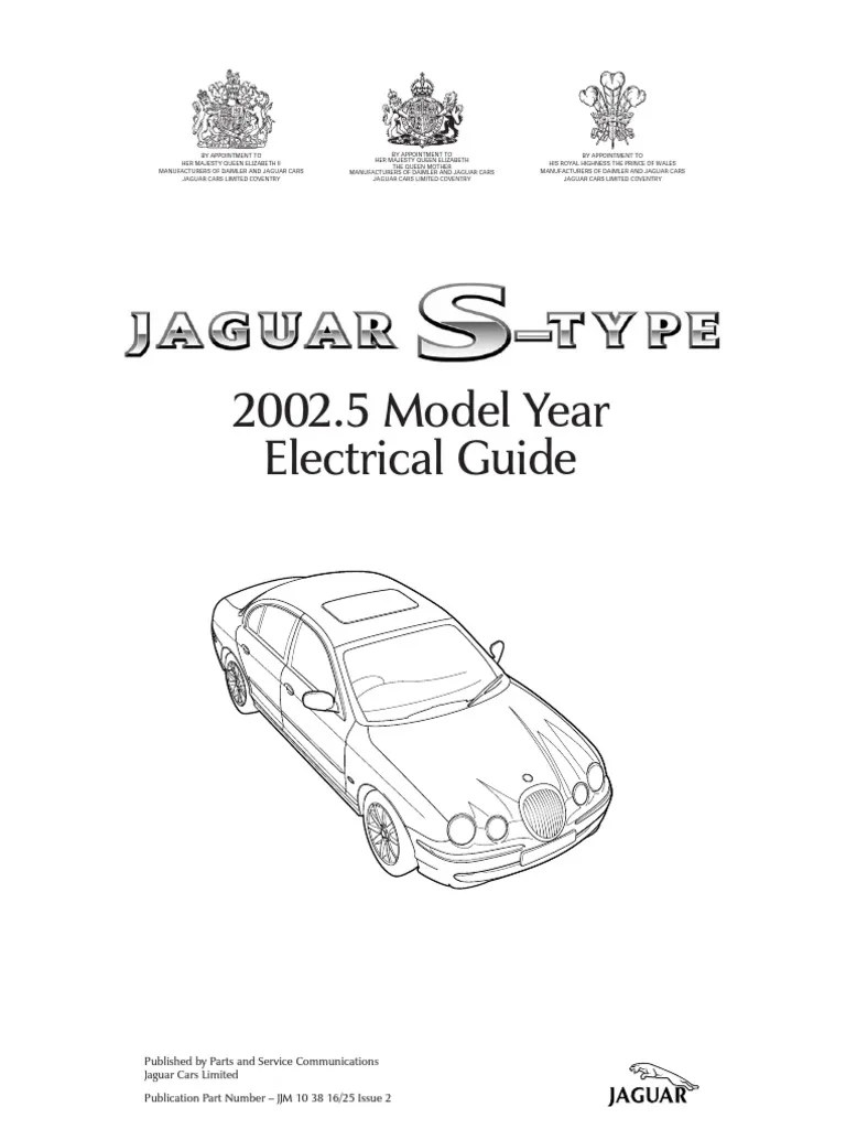 Jaguar SType Electrical   Computer Network   Wheeled Vehicles