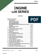 Mitsubishi 4G63 & 4G64 Engine | Belt (Mechanical) | Valve