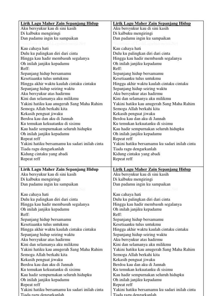 Download Lagu Maher Zain Sepanjang Hidup : download, maher, sepanjang, hidup, Maher, Sepanjang, Hidup, Angka, Music, Notes, Download, Album, Gratis,, Streaming, Dengan
