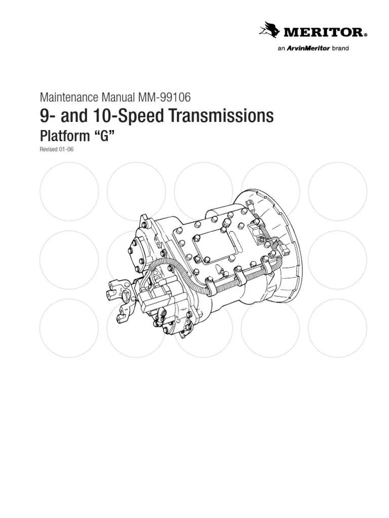 Zf Meritor Transmission Wiring Diagram  Somurich