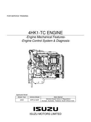 NPR MANUAL Y DIAGRAMA MOTOR ISUZU 729_4HK1_Trainingpdf   Internal Combustion Engine   Turbocharger