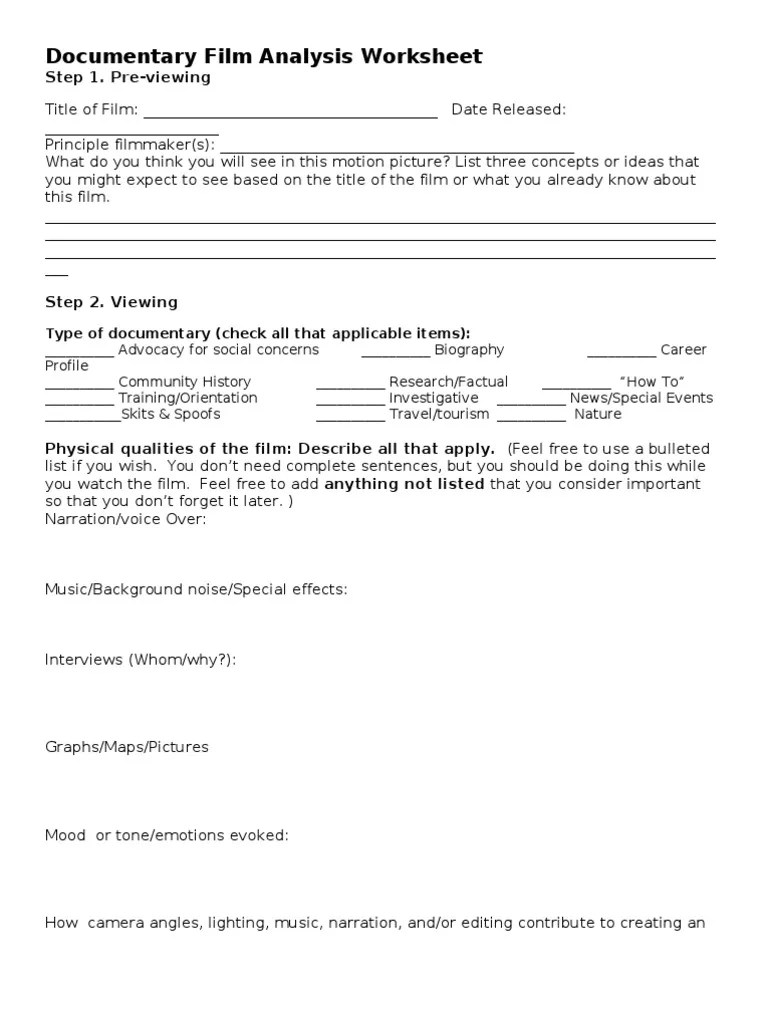 worksheet Film Analysis Worksheet current events worksheets free library download and w ksheet ts ksheets mytourvn study site
