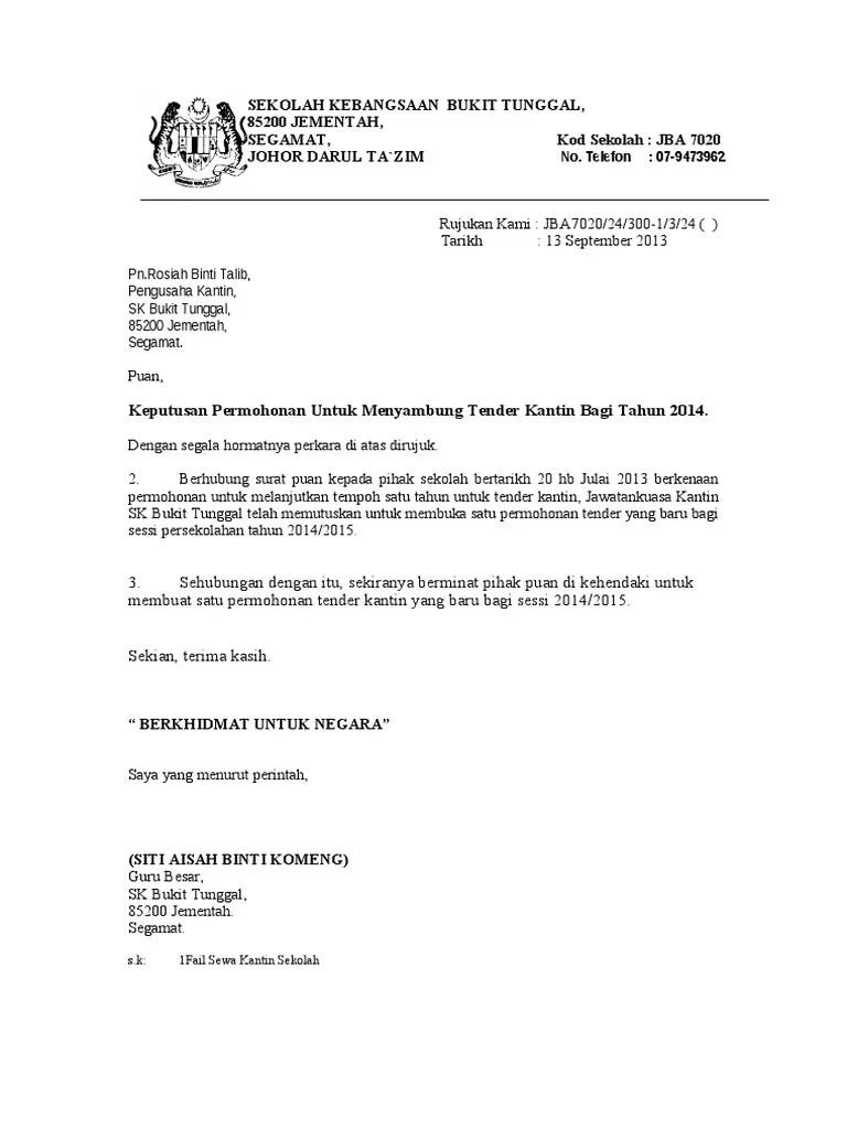 Contoh Surat Sambung Kontrak Perkhidmatan Surat Rasmi Permohonan Sambung Kontrak Rasmi Ri Guna Menjali Komunikasi Antar Instansi Perusahaan Organisasi Atau Kelompok Masyarakat Hingga Saat Ini Surat Masih Menjadi Pilihan Pertama