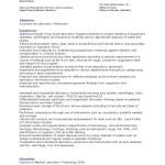 Sample Med Lab Tech Resumes Medical Laboratory Laboratories