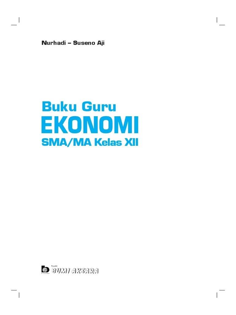 Uji kompetensi ekonomi bab 6 guru ilmu sosial. Ekonomi Xii Buku Guru Unlocked