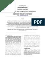 Nurul ainsyah suleman kelompok : LAPORAN PRAKTIKUM KIMIA ORGANIK SINTESIS ASAM PIKRAT.pdf