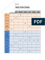 Click here to open the restaurant schedule template. Restaurant Food Service Ops Manual Sample Chapter 8 Pdf Point Of Sale Franchising