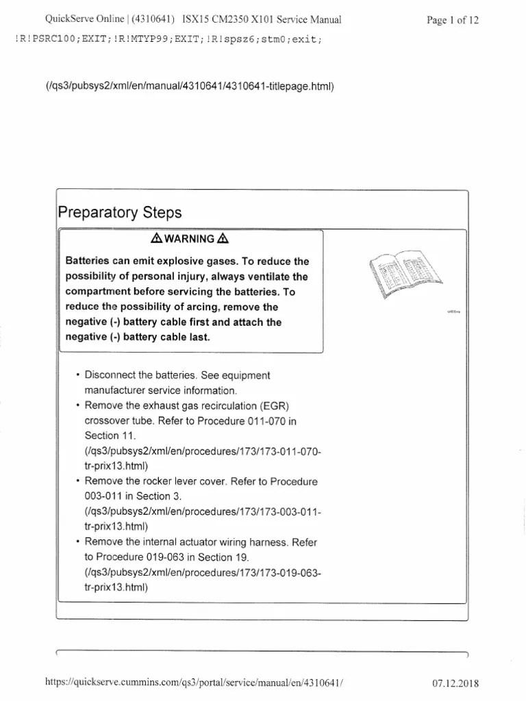 isx 15 injector torque pdf