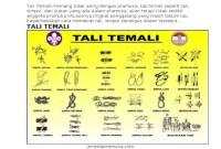 Simpul Tali Pramuka Dan Fungsinya