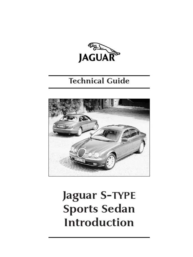 JJM10151692 SType Technical Guide (133 Pages)   Seat Belt   Trunk (Car)
