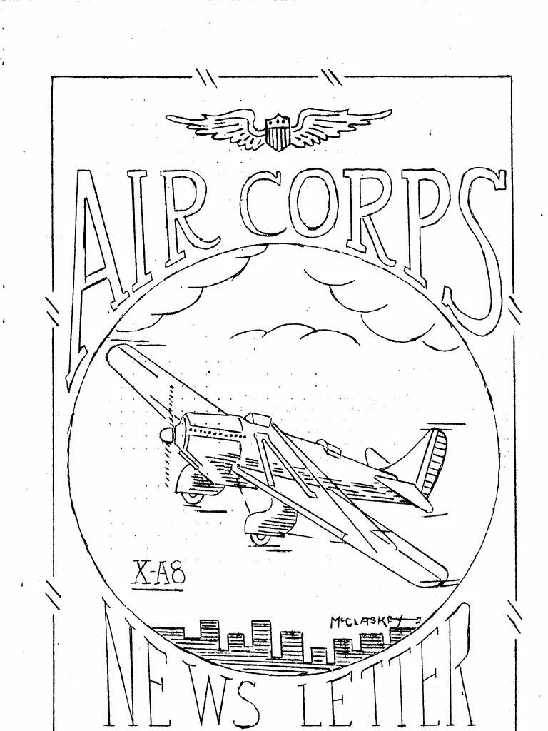Air force news jul dec 1932 united states army air corps united states air force
