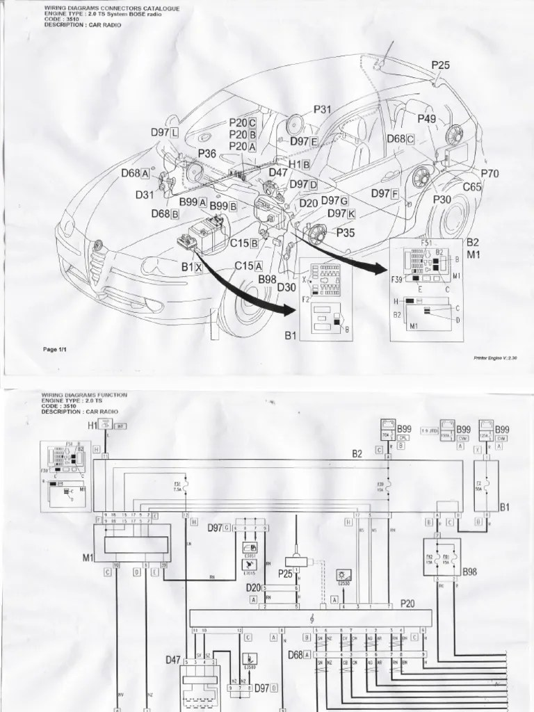 Bose wiring diagrams for alfa 147 hyundai wiring diagrams alfa romeo gt wiring diagrams
