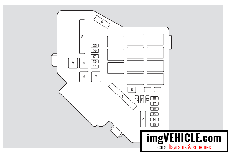 Honda Civic VIII Fuse Box Diagrams & Schemes