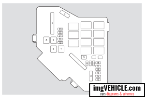 Honda Civic VIII Fuse box diagrams & schemes  imgVEHICLE