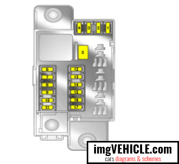 Corsa D Interior Light Fuse
