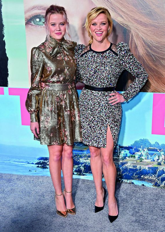 Reese Witherspoon and her daughter Ava Phillippe look exactly similar