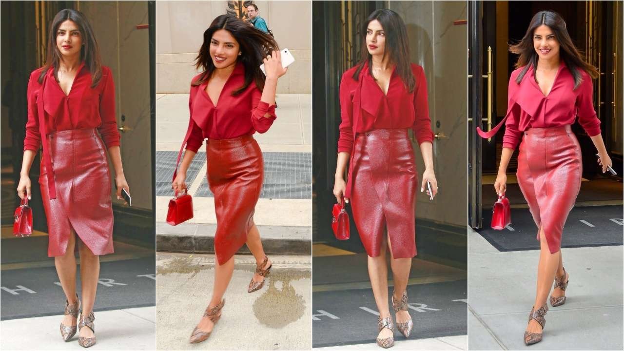 Priyanka spotted on the streets of NYC