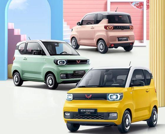 Pilihan warna Wuling Hong Guang Mini EV Macaron