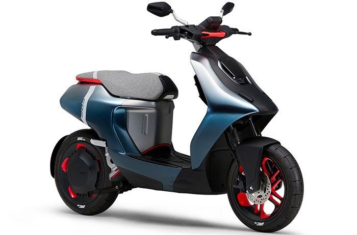 Yamaha E02 bisa jadi hasil kerja sama dengan Gogoro