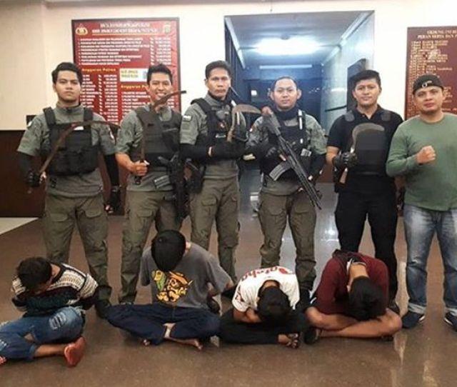 Tim Eagle One Tangkap Geng Motor Wilayah Jakarta Selatan