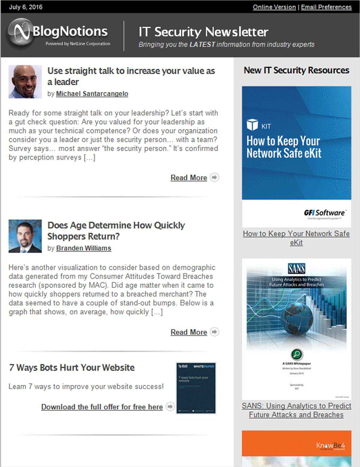 It Security Newsletter