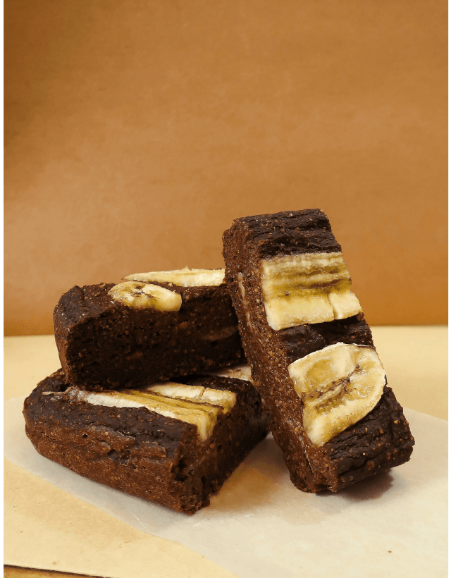 banana bread, healthy, bites, chocolate, cake, recipe, 50 calorie