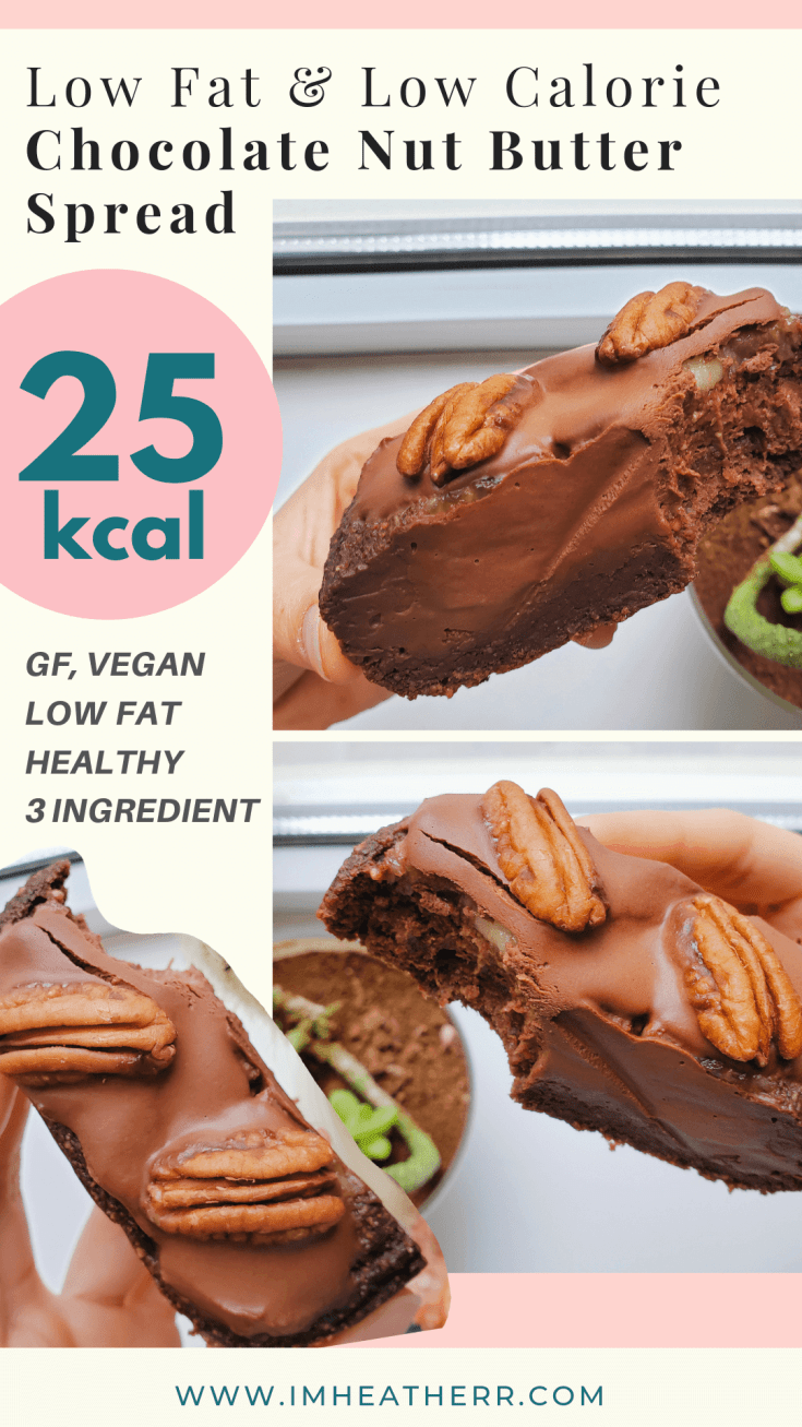 Secretly Low-Calorie PB2 Chocolate Nut Butter (3 ingredients)