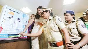 Sanitary Pad Vending Machine in Mumbai (see https://indianexpress.com/article/cities/mumbai/sanitary-pad-vending-machines-a-welcome-change-for-women-cops-4692318/)