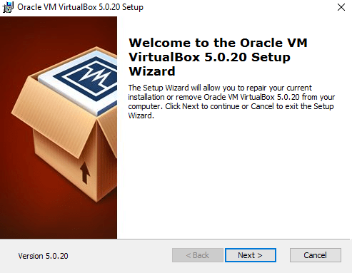 Virtual Box Slika 1